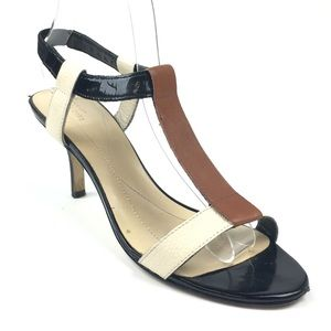 Kate Spade New York Leather T Strap Sandals